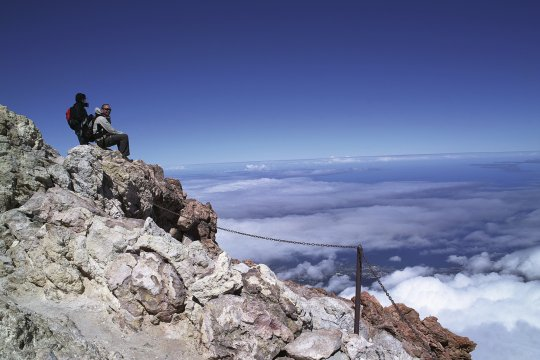 Gipfelglück auf dem Teide