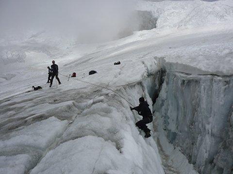 Gletscherspalte 2