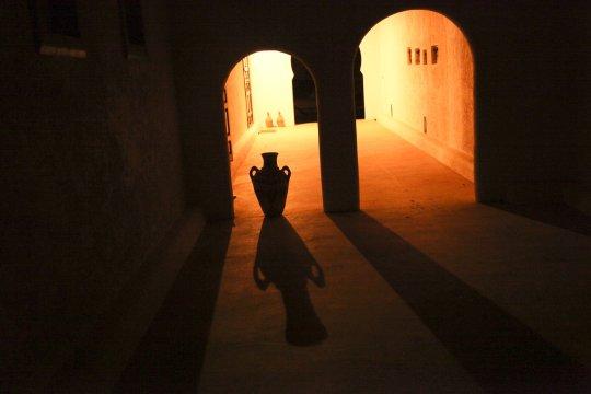 Marokkanisches Haus nachts_2
