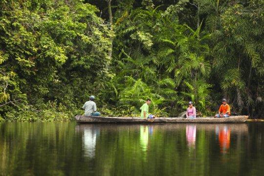 Einheimische Boot Amazonas_2