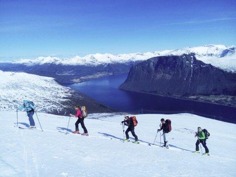 Romsdalfjord Aufstieg_2
