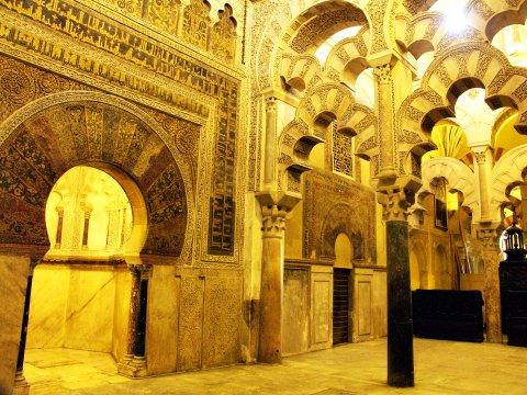 In der Mezquita Cordoba