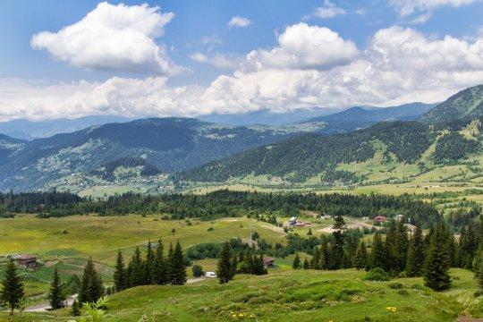 Landschaft am Goderdzi-Pass
