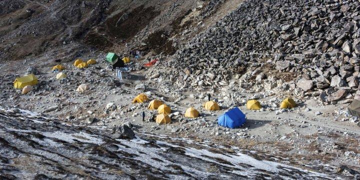 Island Peak-Basislager