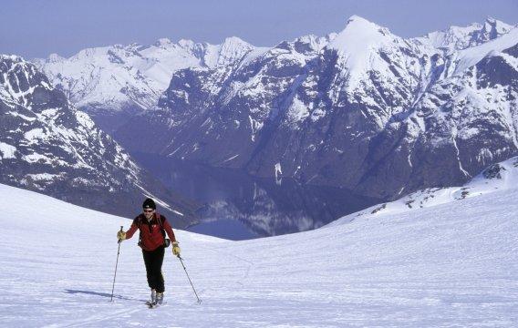 Skitour, Aufstieg