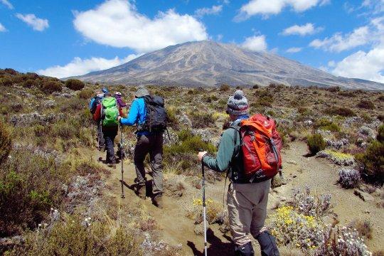 Auf der Kikelewa Route