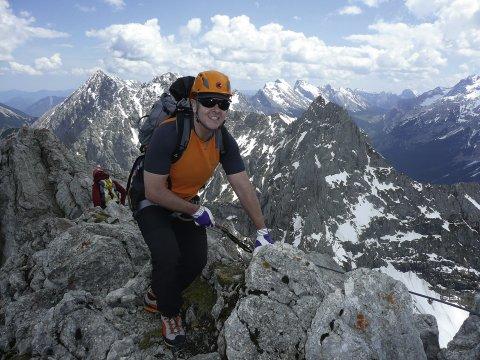 Grundkurs Klettersteig 3