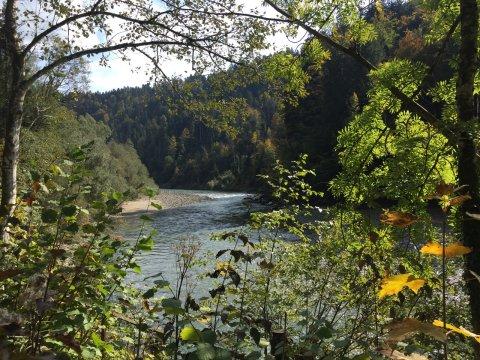 Romantischer Fluss