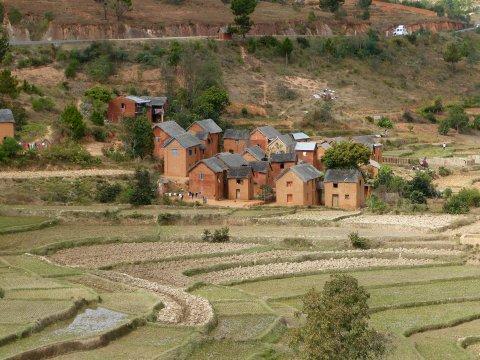 Madagaskar-kleines-Dorf