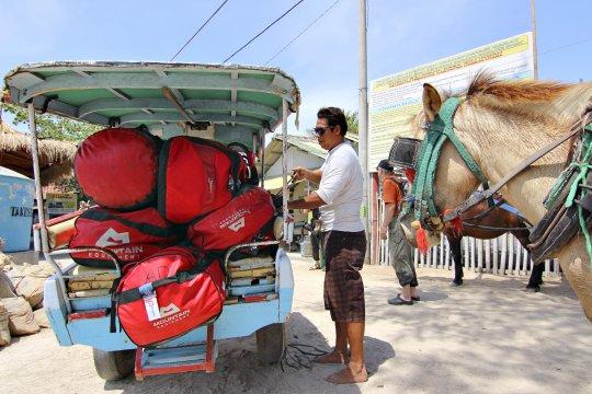 Lombok Pferdekutschen auf den Gili Inseln