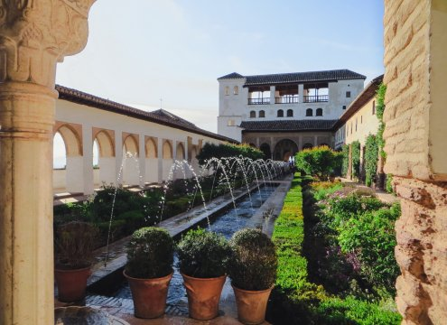Gartenpalast der Alhambra