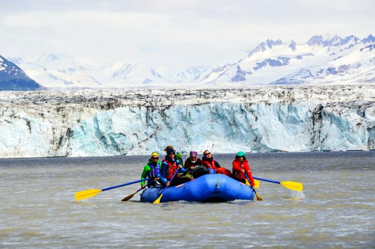 Alaska - Rafting auf dem Copper River
