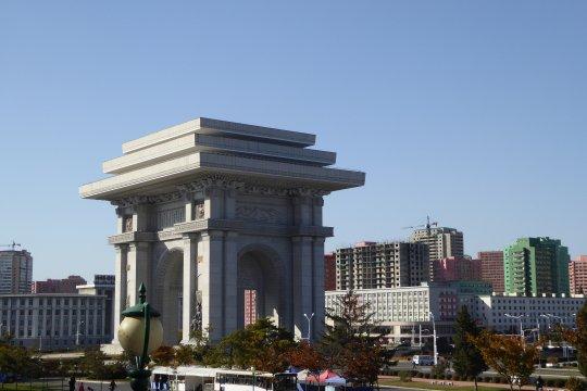 Nordkorea Pyongyang Triumpfbogen