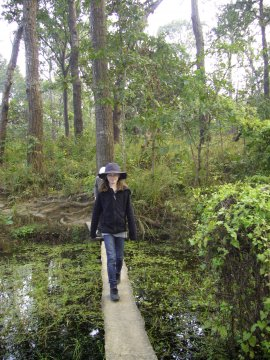 Wandern im Chitwan Nationalpark