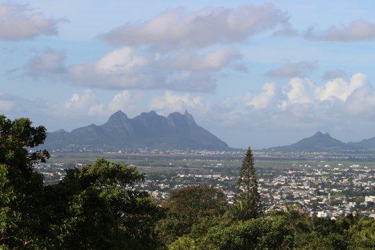 Blick von Quatre Bornes