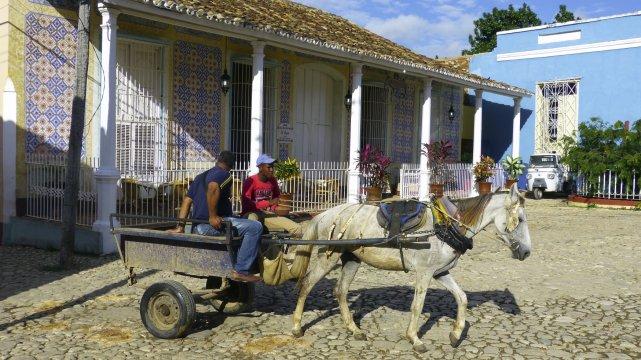 Kuba Trinidad Eselwagen