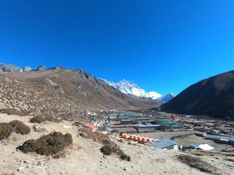Das Dorf Dingpoche