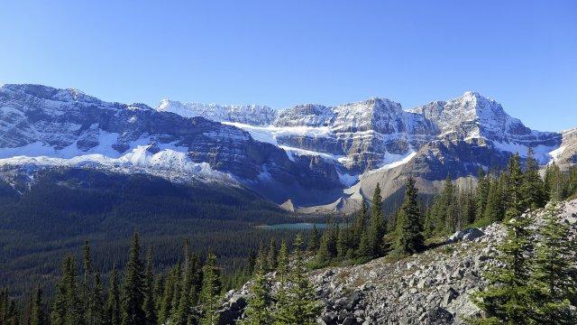 Wanderung Banff Nationalpark Big Behieve