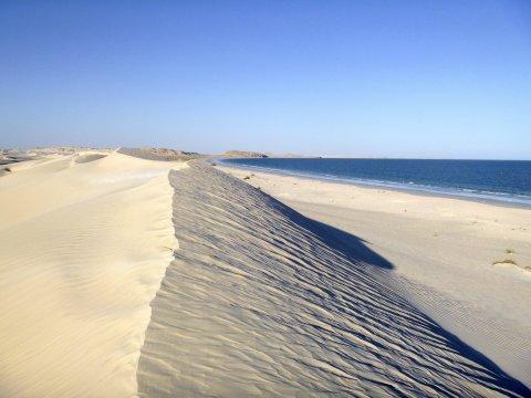 Strand von al-Khaluf