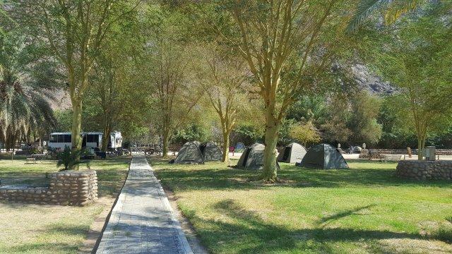MTB Vic Falls - Kapstadt  Campingplatz 01