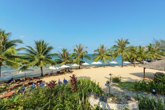 Eco Beach Resort Strand Tag