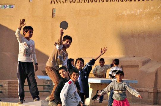 grosses Hallo in Yazd
