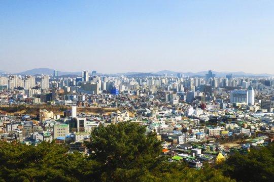 Panorama Megacity Seoul