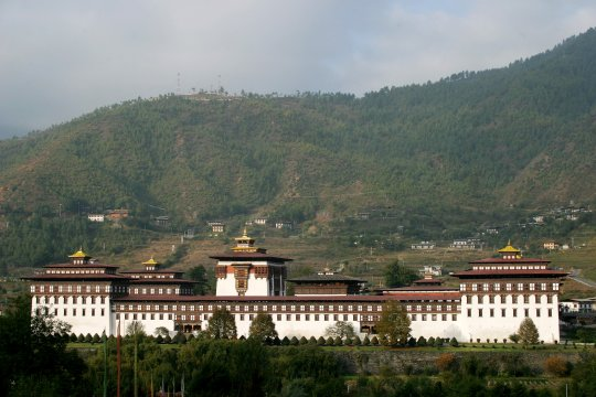 Trashichho Dzong in Thimphu