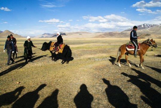 Kirgisisches Fest bei Alichur_2
