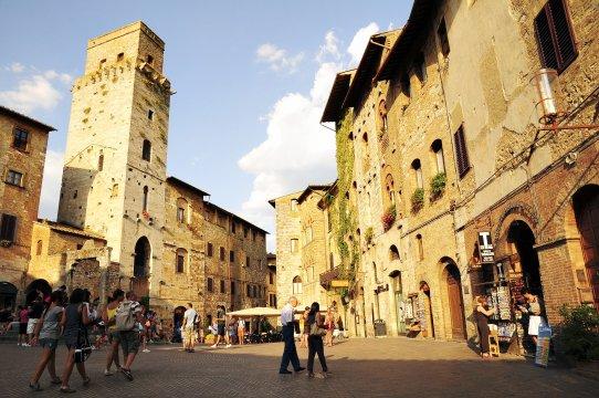 Historischer Stadtkern von San Gimignano