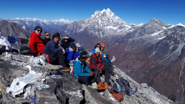 Rolwaling Gipfel Yalung Ri