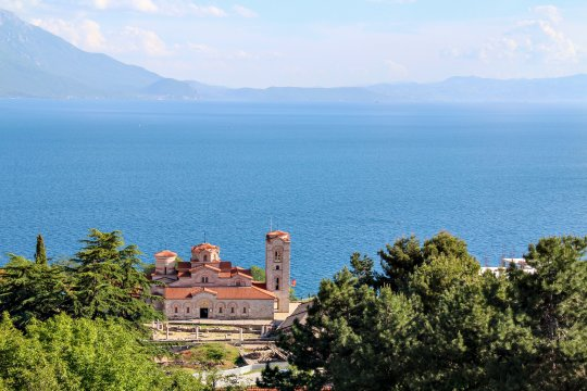 Kirche Sveti Kliment in Ohrid