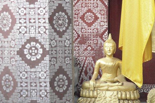 Klosterdetail in Luang Prabang