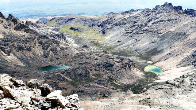 Bergseen am Mt. Kenya