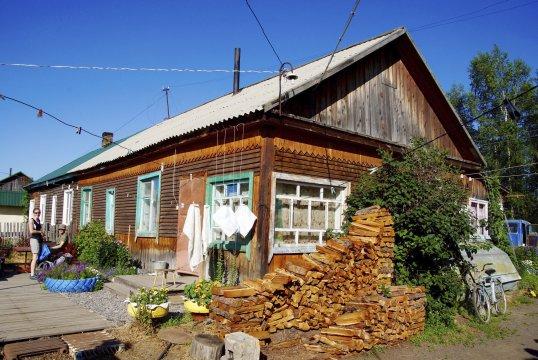 Hütte in Kozyrewsk