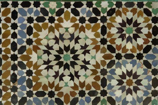 Mosaik Kacheln Ornament Marrakech