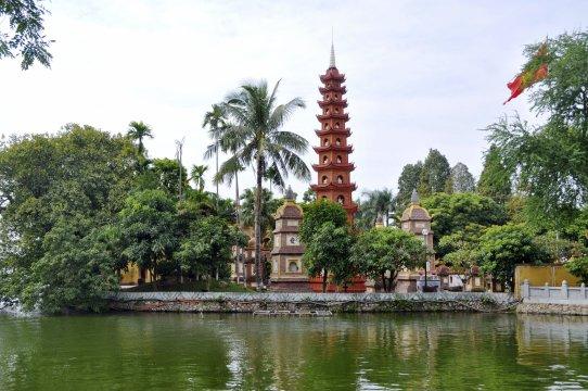 Hanoi: Tran Quoc-Pagode