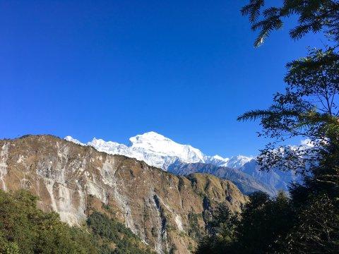 Blick auf Dhaulagiri I