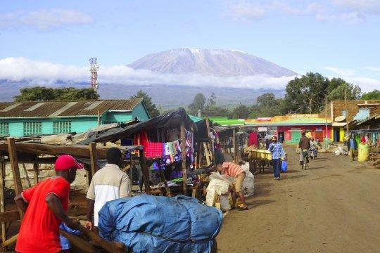 Loitokitok Aussicht auf den Kilimanjaro