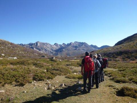 Unterwegs nach Col de Vergio GR 20 Nord