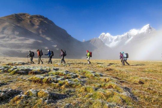 Trekking in der Huayhuash