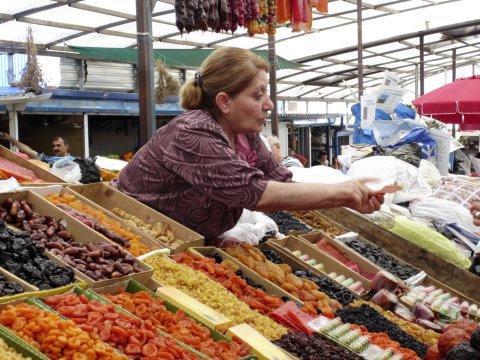 Kaukasus Markt im Kaukasus