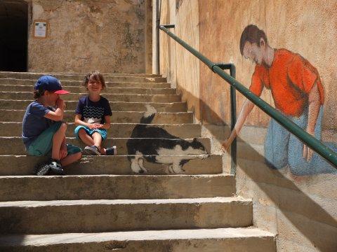 Mellieha_Straßenmalerei