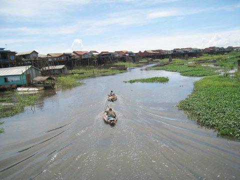 Bootsfahrt auf dem Tonle Sap