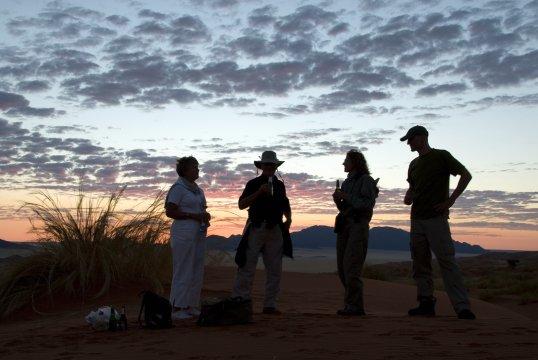 Sundowners Namib