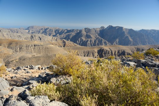 Mussandam, Blick vom Jabal as Sayh