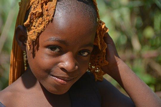 ugandisches Mädchen