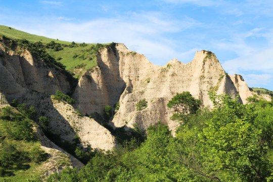 Sandsteinformationen bei Melnik_5
