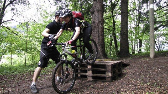 Mountainbike Fahrtechniktraining 2