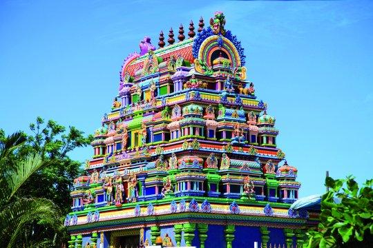 Hinduistischer Tempel auf La Reunion
